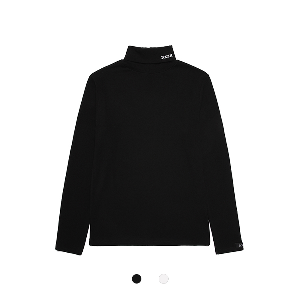 [DXOH] LOGO2 TURTLENECK 2COLOR